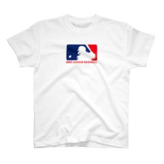 BIRD LEAGUE BASEBALL T-shirts