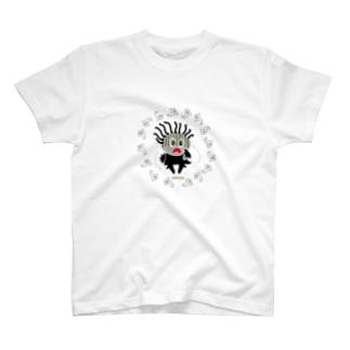スプーキーお化けにビビリンチョのクレコちゃん T-shirts