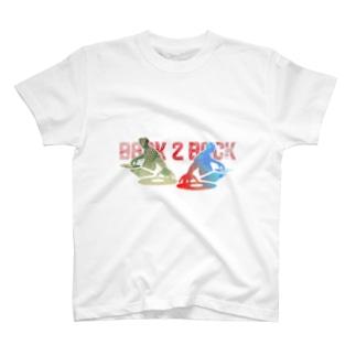 アニクラデザイン「BACK2BACK」 T-shirts