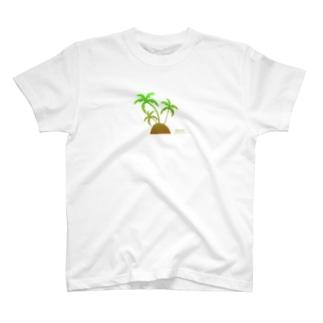 MIGERY ヤシの木 T-shirts