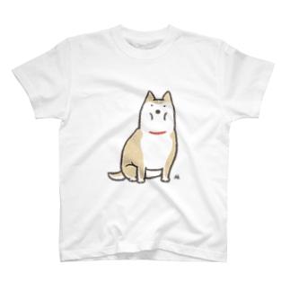 ◆太い犬(裏面あり) T-shirts