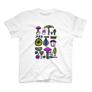 きのこパーティー T-shirts