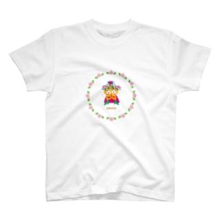 ペッコンお願いしますだのクレコちゃん T-shirts
