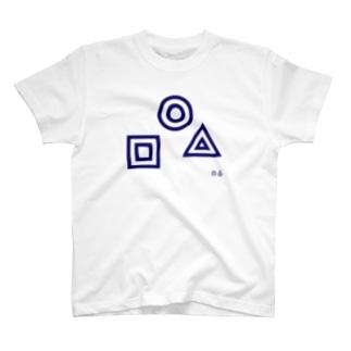 NADA6_ASHIYA-GOのジャノメ T-shirts