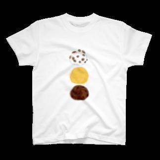 iccaの和菓子とりお T-shirts