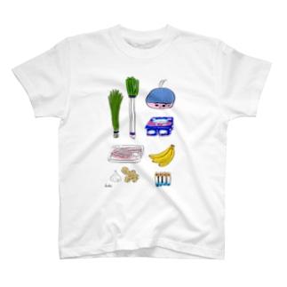 ぼくがスーパーで買ったもの T-shirts