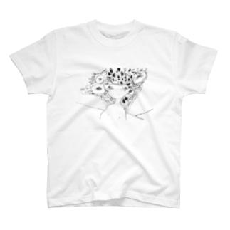 不確かな脳 T-shirts