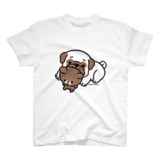 PUG and Bear(パグ) T-shirts