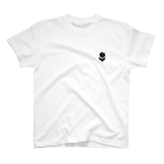 nyanderful timeのチューリップ Tシャツ