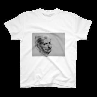 takakenの書きかけのオッサン T-shirts
