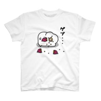 うるせぇトリのTシャツ(ゲップ T-shirts