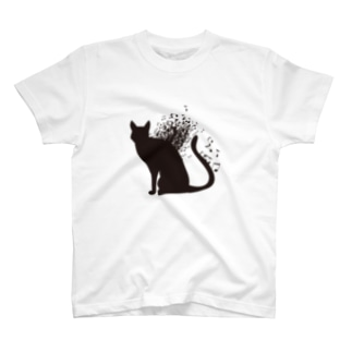 音楽と猫 T-shirts