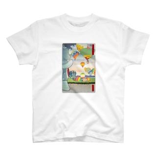 名所佐賀百景「佐賀インターナショナルバルーンフェスタ」 T-shirts