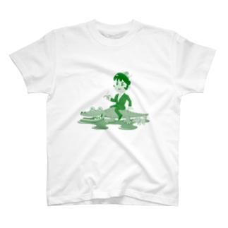 クロコダイルリーマン T-shirts