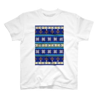 ノルディックブルー T-shirts