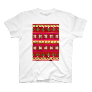 ノルディックレッド T-shirts