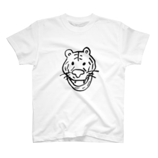T03-Tiger-BL T-shirts