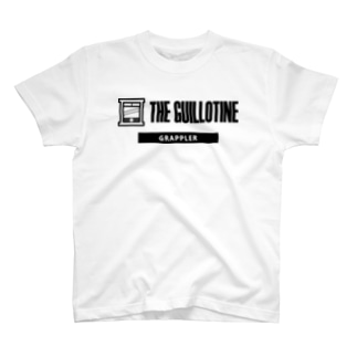 THE GUILLOTINE BLACK T-shirts
