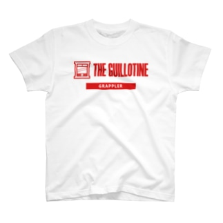 THE GUILLOTINE RED T-shirts