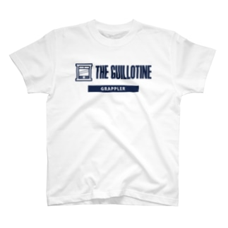 THE GUILLOTINE NAVY T-shirts