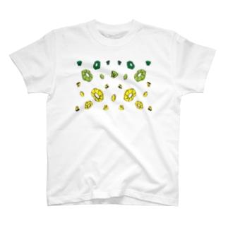 cute cut パイン G.Y T-shirts