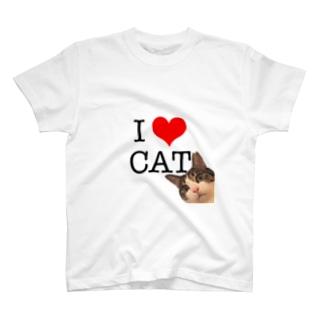 I♡CAT T-shirts