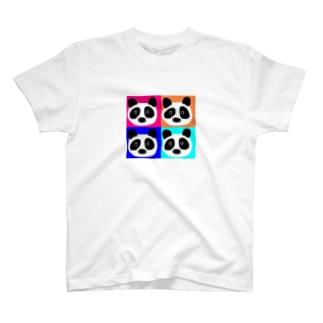 パンダ@アソート T-shirts