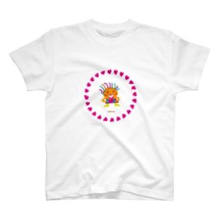 笑いすぎてお腹が痛いクレコちゃん T-shirts