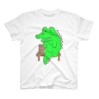 HandC  わに T-shirts
