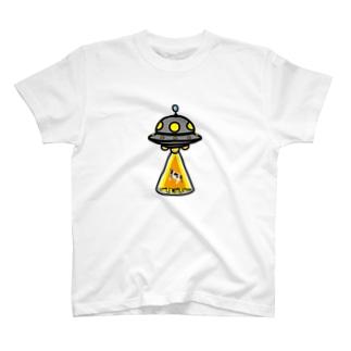 UFO★キャトルミューティレーション T-shirts
