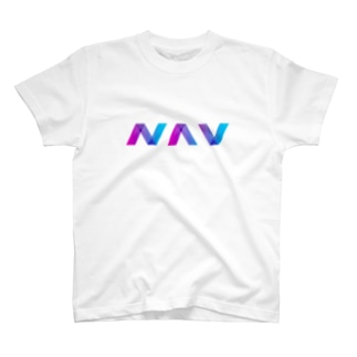 仮想通貨 NAV COIN T-shirts