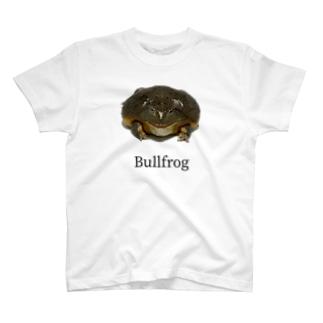 アフリカウシガエル T-shirts