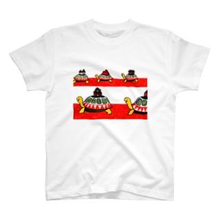かめのおひっこし T-shirts