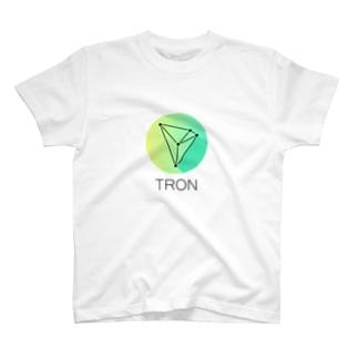 仮想通貨 TRON T-shirts