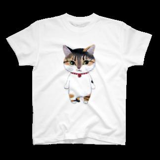 ねこぱんつのたまちゃん T-shirts
