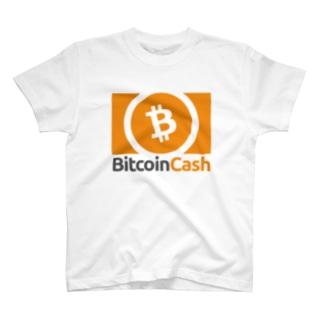【B】ビットコインキャッシュシンボル T-shirts