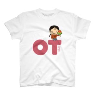 OTJAPONのシュプとヲタッチとピンクロゴ T-shirts