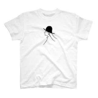 風と帽子のつくしちゃん T-shirts
