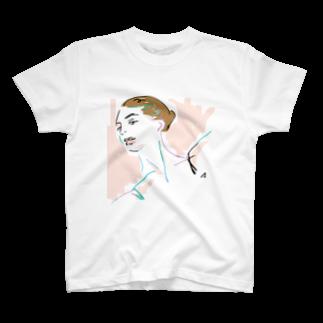 sumireiro01の美女55 T-shirts