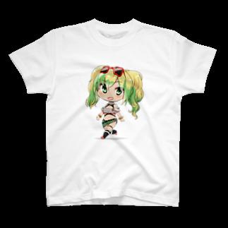 nuwtonのばっしょも T-shirts