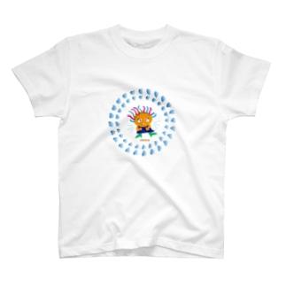 クレコちゃんがどっきり冷汗 T-shirts