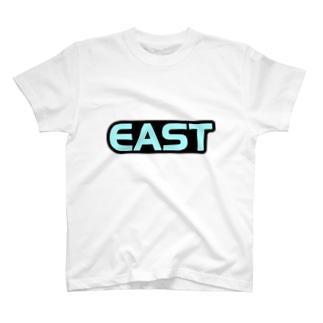 是枝君風「EAST」Tシャツ T-shirts