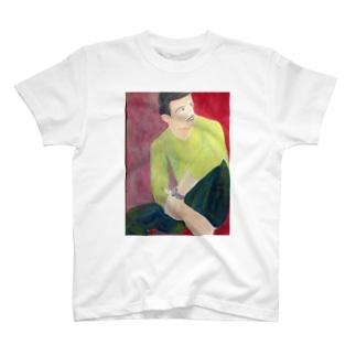時計をつけた男性 T-shirts