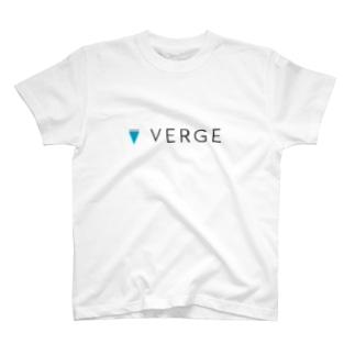 仮想通貨 Verge T-shirts