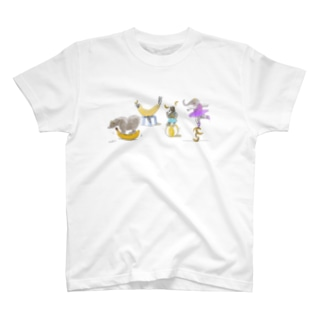 バナナサーカス団 T-shirts