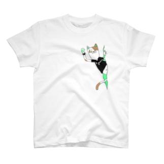 パンクキャット【アイガス】 T-shirts