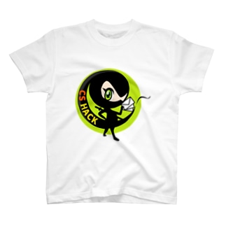 CS HACK 丸ロゴ Tシャツ T-shirts