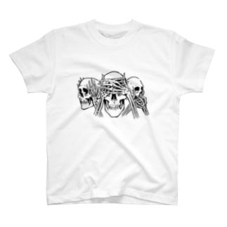 Hear no,See no,Speak no! T-shirts