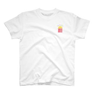 はじけるポップコーン T-shirts
