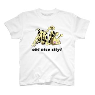 折りたたみきりんグッズ T-shirts